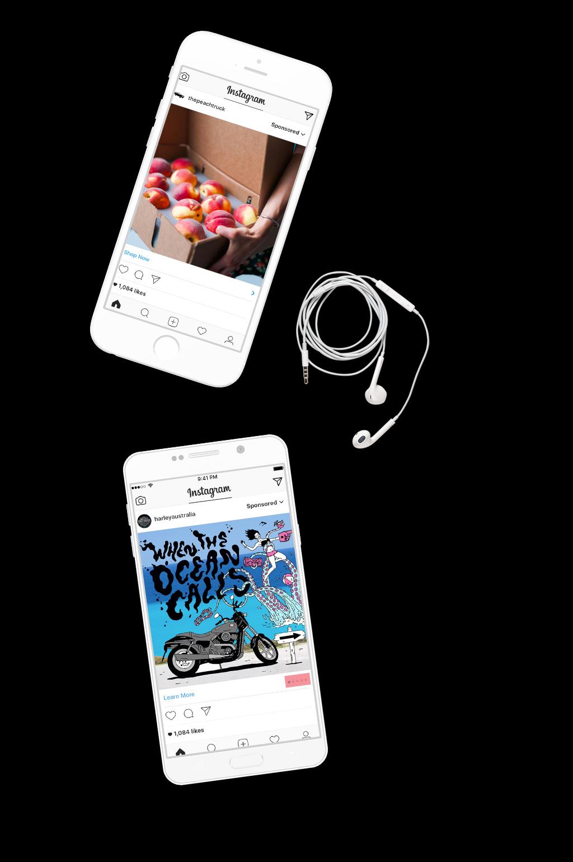 publicidad y diseño en instagram - wodes