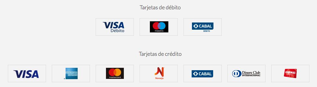 tarjetas de credito todopago